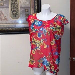 Tops - Tropical blouse